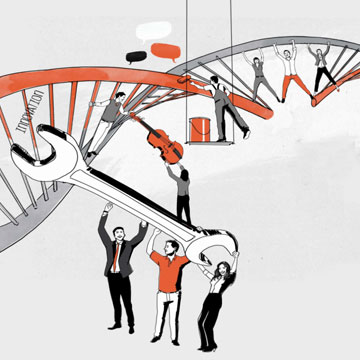 Human DNA in Innovation